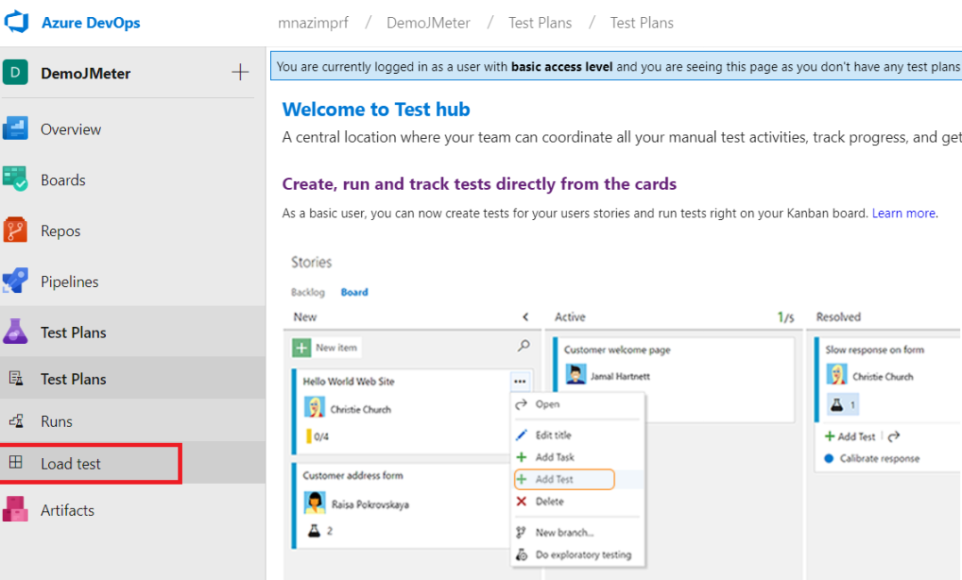 Run Apache JMeter load tests with Azure DevOps – QAutomation