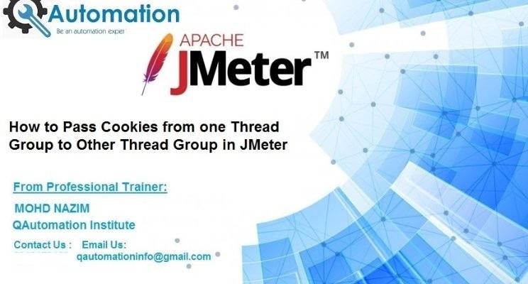 Handling Cookies in JMeter – QAutomation