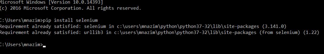Setup selenium webdriver in python – QAutomation