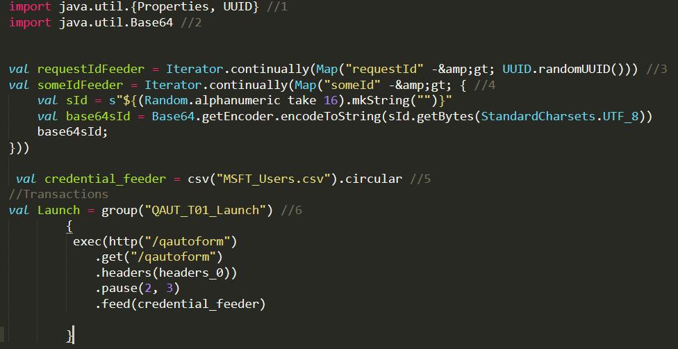 Gatling Scripting – Understanding of Code – QAutomation